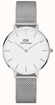 Daniel Wellington | Grand Petite 36 | Steel Mesh | White Dial | DW00100306