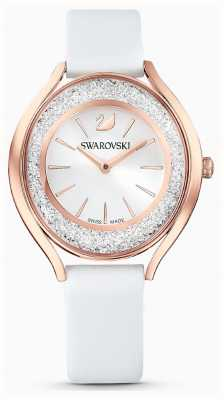 Swarovski | Women's | Crystalline Aura | White Leather Strap | 5519453