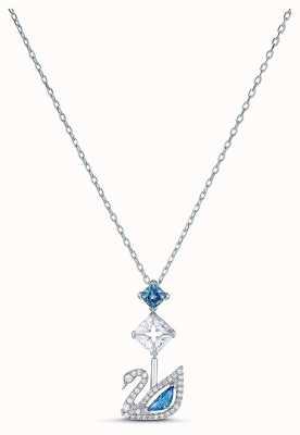 Swarovski | Dazzling Swan | Blue Crystal | Necklace | 5530625