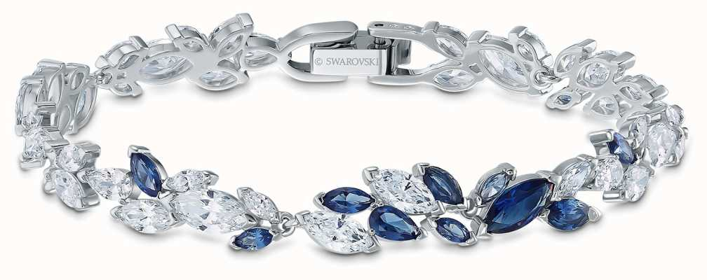 Swarovski | Louison Bracelet | Blue And White Crystals | 5536548