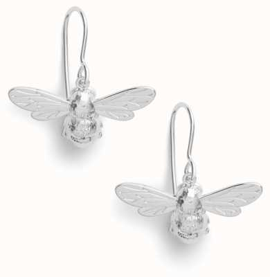 Olivia Burton | Lucky Bee | Silver | Sleeper Earrings | OBJAME171N