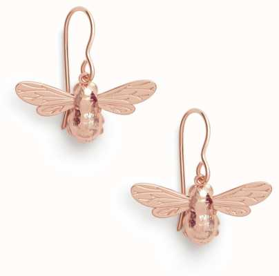 Olivia Burton | Lucky Bee | Rose Gold | Sleeper Earrings | OBJAME173N