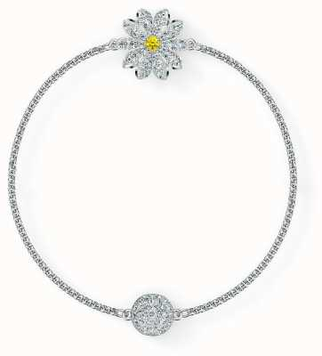 Swarovski Remix | Flower Strand Bracelet | Rhodium Plated | White 5520651