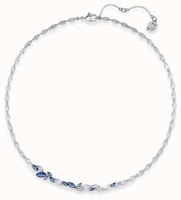 Swarovski Louison | Rhodium Plated Necklace | Blue 5536547