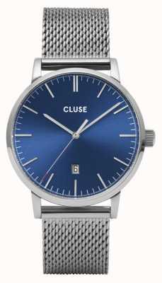 CLUSE Aravis | Steel Mesh Bracelet | Blue Dial CW0101501004