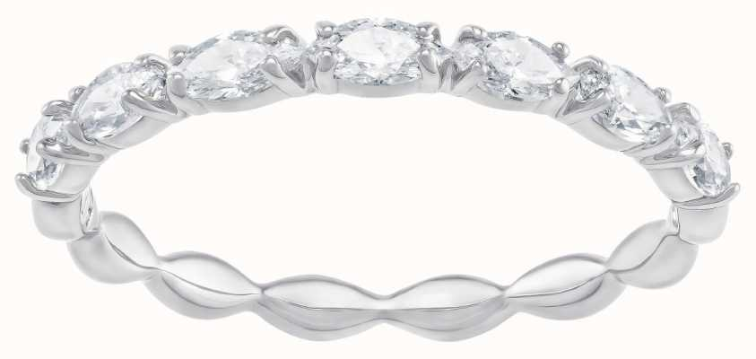 Swarovski Vittore Marquise | Rhodium Plated | White | Ring | 52 5366579