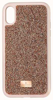 Swarovski Glam Rock | Phone Case | Pink/Rose Gold | IPhone XR 5506306