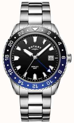 Rotary Men's Henley | Stainless Steel Bracelet | Two-Tone Bezel | GB05108/63