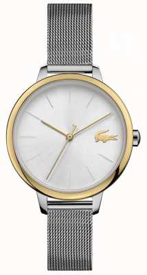 Lacoste Women's Cannes | Stainless Steel Mesh | Silver Dial 2001127