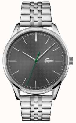 Lacoste Men's Vienna | Stainless Steel Bracelet | Grey Dial 2011073