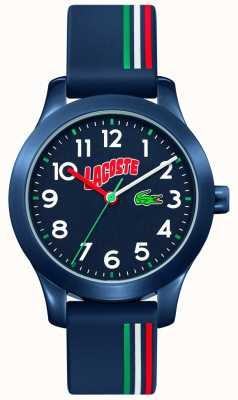 Lacoste 12.12 Kids | Blue Silicone Strap | Blue Dial 2030028