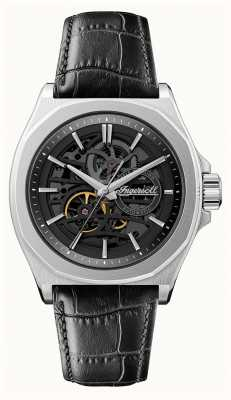 Ingersoll Men's 1892 The Orville | Automatic | Black Leather Strap | I09302