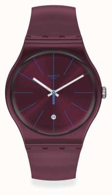 Swatch | Original Gent | Burgundazing Watch SUOR402