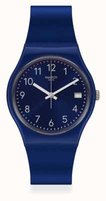 Swatch | Original Gent | Silver In Blue Watch GN416