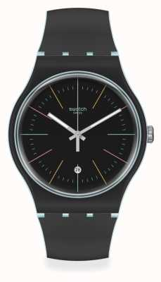 Swatch | Original New Gent | Black Layered Watch SUOS402