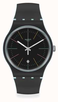 Swatch | Original New Gent | Black Layered Watch SUOS402