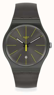 Swatch | Original New Gent | Charcolazing Watch SUOB404