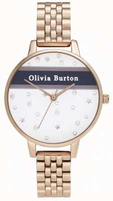 Olivia Burton Women's | Demi | Varsity | Rose Gold PVD OB16VS06