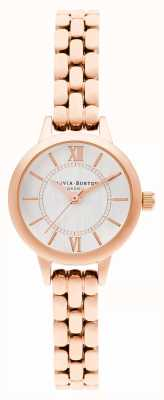 Olivia Burton | Wonderland | Mini Dial | Rose Gold Bracelet | OB16MC51