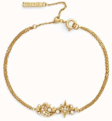 Olivia Burton Celestial Chain Bracelet Gold OBJCLB16