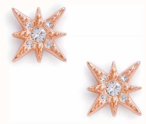 Olivia Burton Celestial North Star Stud Earrings Rose Gold OBJCLE43