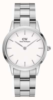 Daniel Wellington Iconic Link 32mm Stainless Steel White Dial DW00100205