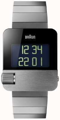 Braun Men's | Prestige | Digital | Black Bracelet BN0106BKBTG