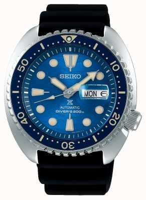 Seiko Prospex Gents Mechanical | Save The Ocean | Black Rubber SRPE07K1