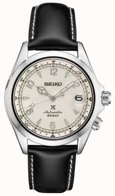 Seiko Prospex Gents Mechanical Alpinist | Black Leather SPB119J1