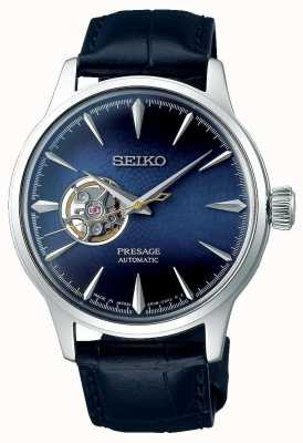 Seiko Presage Gents Mechanical | Blue Calf Skin Leather | SSA405J1