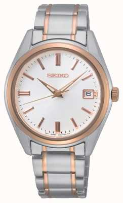 Seiko Conceptual Gents Quartz Two Tone SUR322P1