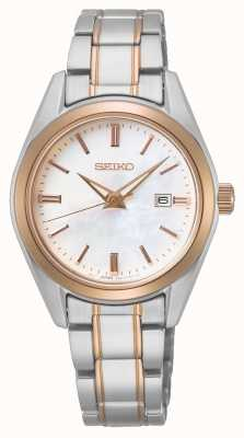 Seiko Conceptual Ladies Quartz | Two-Tone Steel Bracelet SUR634P1