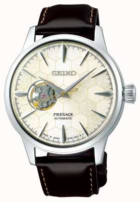 Seiko | Limited Edition Gents Mechanical | Brown Calf Leather SSA409J1