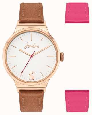 Joules Women's | Interchangeable Strap | White Dial | JSL036TG
