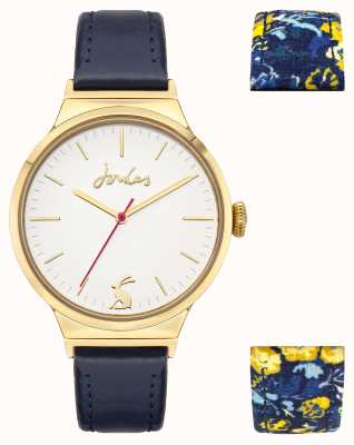 Joules Women's | Interchangeable Straps | White Dial JSL036UG