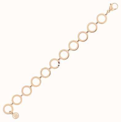 Tommy Hilfiger | Dressed Up | Women's Rose Gold Tone Circle Bracelet | 2780313