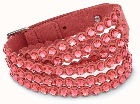 Swarovski | Power | Slake Fabric Bracelet | Red | 5531287