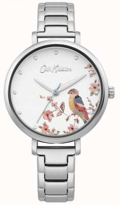Cath Kidston Women's Stainless Steel Bracelet | Silver Bird Dial CKL099SM