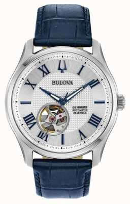 Bulova Men's | Wilton | Automatic | Blue Leather Strap 96A206