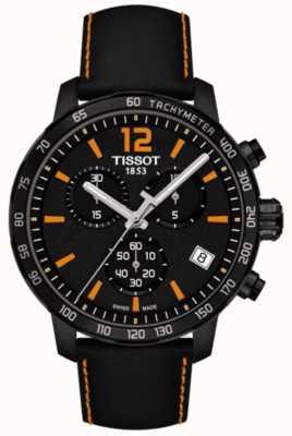 Tissot T-Sport Quickster Chronograph Black & Orange T0954173605700