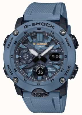 Casio Mens G Shock Carbon Core Watch Camouflage GA-2000SU-2AER