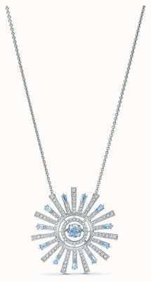 Swarovski | Sunshine | Necklace | Rhodium Plated | Blue 5536731