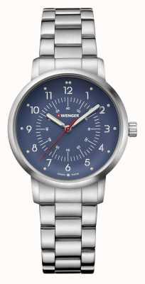 Wenger | Avenue | Stainless Steel Bracelet | Blue Dial | 01.1621.115