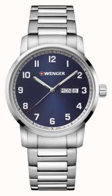 Wenger | Attitude | Stainless Steel Bracelet | Blue Dial 01.1541.121