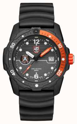 Luminox Mens Bear Grylls Survival Sea 3720 Series Black Orange XB.3729