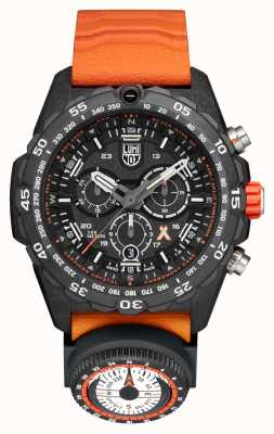 Luminox Mens Bear Grylls Survival Master 3741 Black Orange Strap XB.3749