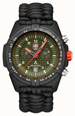 Luminox Mens Bear Grylls Survival 3780 Series Green Dial Paracord XB.3797.KM