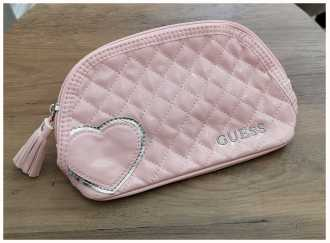 Guess Pink Makeup Bag MAKEUP