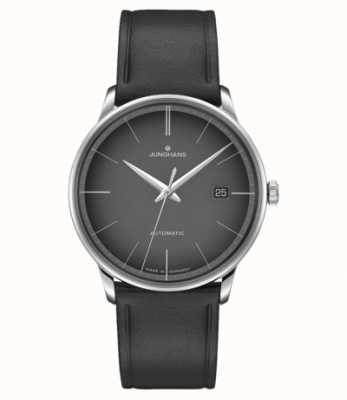 Junghans Meister Automatic Black leather Black Dial 027/4051.00
