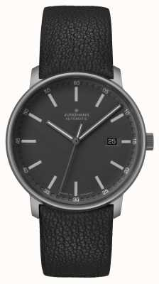 Junghans FORM A | Titan | Automatic | Black Leather Strap | 027/2001.00